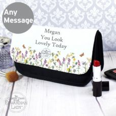 Country Diary Wild Flowers Make Up Bag